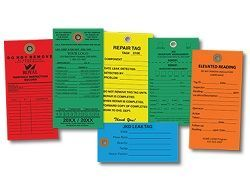 CUSTOM COLORED TYVEK TAGS