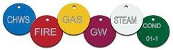 LASER ETCHED COLORED ALUMINUM CIRCLE TAGS