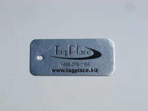 CUSTOM WRITE-ON TAG