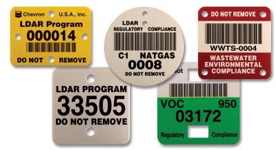 LEAK DETECTION METAL TAGS