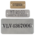 CUSTOM PREMIUM STAMPED TAGS