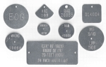 POWER POLE UTILITY TAGS