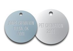 STAMPED VALVE TAGS