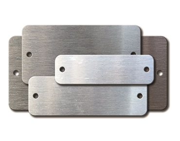 STAINLESS RECTANGLE BLANKS (Economical)