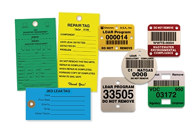 LEAK DETECTION TAGS