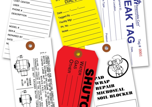 Custom Tyvek Tags