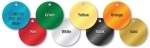 COLORED ALUMINUM TAGS 1.5 ROUND