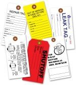 Custom Colored Cremation Tyvek Tags #5
