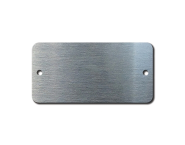 STAINLESS STEEL TAGS 1.5 x 3