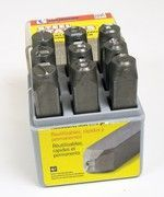 STAMPING SET NUMBERS 1/8 HEAVY DUTY